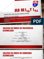 Calculo de Indice de Frecuencia Acumulado Iga