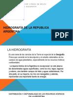 Hidrografía de La Republica Argentina