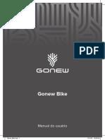 Gonew Bike. Manual Do Usuário