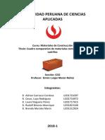 Material Convencional- Ladrillo