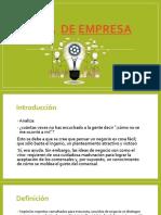 Idea de Empresa DIAPOS