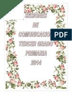 Sesion Tercer Grado Con Rutas