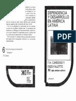 Cardoso y Faletto - Dependencia y Desarrollo en América Latina(1)