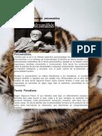 Teoría de La Personalidad Psicoanalítica