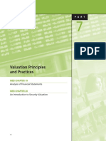 Valuaton Principles and Practices