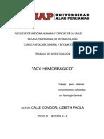 ACV-HEMORRAGICO