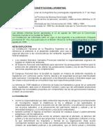 1.1 Marco Juridico Constitucional Arg