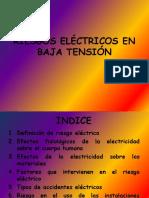 Riesgos Electricos en Baja Tension