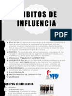 Ámbitos de Influencia