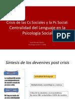 Centralidad Del Lenguaje en Psicología Social
