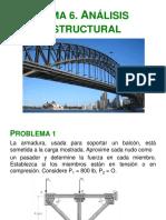 Problemas Tema 6 Analisis Estructural