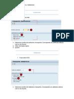Sustituciones y Validaciones SAP-Transporte