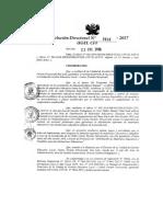 Aprobacion de Plan y Protocolo