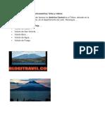 TOp 10 Volcanes de Centroamérica