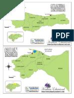 18 Departamentos de Honduras