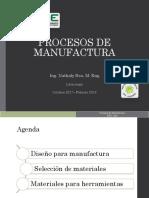 Diseño Para Manufactura y Materiales