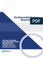 Responsible Business Trends 2018 Report