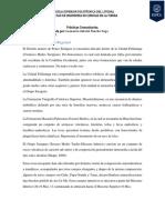 Geología y Estructura Regional PONCE-EnRÍQUEZ