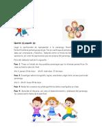 Actividad de Expresión Oral 6to
