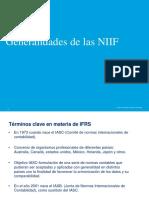 Presentacion Generalidades Objetivos Cualidad de La Información Financiera