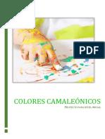 colores camaleonicos- proyecto
