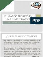 Marco Teórico en Una Investigac