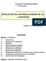audit interne logistique 12 promo