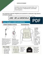 GUÍA de ACTIVIDADES Infografía Imprimir Para 5tos