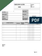 Taller 5 Planficiación de Objetivos