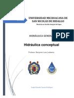 Hidraulica Conceptual
