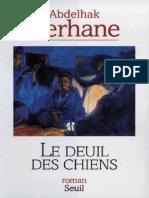 Abdelhak Serhane - Le Deuil Des Chiens