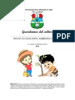 2018 Proyecto Educativo Ambiental