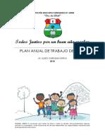 2018. Plan Anual de Trabajo de Aula