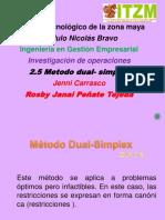 2.5 Metodo Dual Simplex