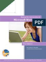 Manual de Instruccion de Microsoft Word 2013 Basico