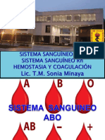 Grupos Sanguineos COAGULACION 18