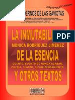 Lcdlg Comoartes. 59. Mónica Rodríguez Jiménez. Hiperbrevedades