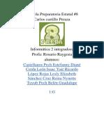 INTEGRADORA (reporte)