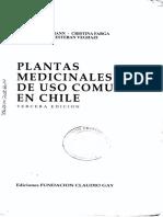 Hoffman, Adriana - Plantas Medicinales de Uso Común en Chile