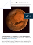 Is Mars Habitable Thats Tougher to Answer Than You Might Think