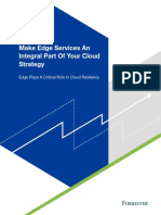 Forrester Consulting Make Edge Services an Integral Part of Your Cloud Strategy
