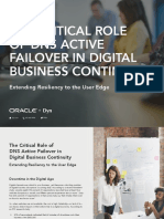 eBook the Critical Role of DNS Active Failover in Digital Business Continuity