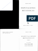 Francisco Suárez - Disputaciones Metafísicas (Vol.2) (1960, Gredos)