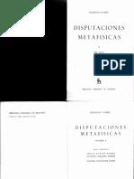 Francisco Suárez - Disputaciones Metafísicas (Vol.2) (1960, Gredos)