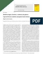 Miguel Lorente - Medicina Legal y Forense y Violencia de Género (2010)