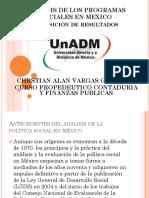 Analisis de Los Programas Sociales en Mexico