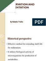 Preservation and Fermentation 2
