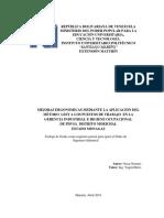 MirnaMEJORAS ERGONÓMICAS EN LOS PUESTOS DE TRABAJO DEL DEPARTAMENTO DE OPERACIONES EN LA  EMPRESA INVERSIONES  VISAEZ C.A,  MATURÍN ESTADO MONAGAS