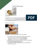 Los Pros y Los Contras de La Leche de Soja