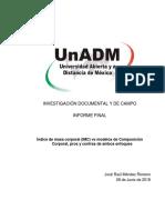 Raul Mendez IMC y Composicion Corporal